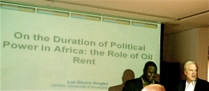 Oiling Africa's Gears for Democratic Change
