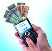 Mobile devices helping to achieve financial inclusion