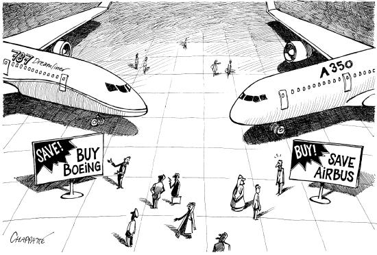 Boeing vs Airbas