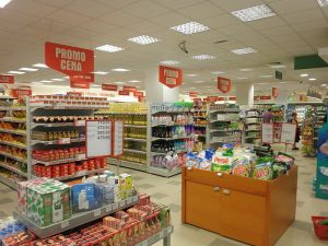 Maxi Supermarket in Niš