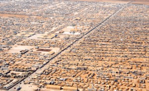 The Za'atari refugee camp has become Jordan's 4th largest city.