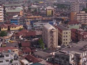 Urban Area in Lagos, Nigeria