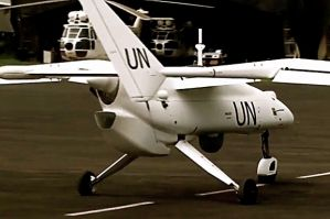 Could the UN use drones for a more peaceful purpose?