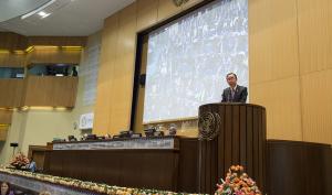 Secretary General Ban Ki-Moon congratulates delegates on adopting the Addis Ababa Action Agenda. Source: UN Economic Commission on Africa