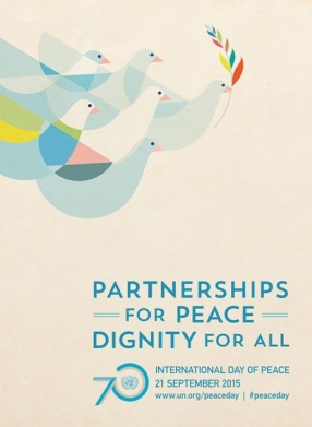 2015 International Day of Peace Poster (Source: UN)
